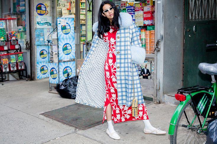 """Our #ppNaraDress in the latest @manrepeller article """"3 cool outfit ideas for February"""" / Nuestro vestido Nara en el último artículo de #manrepeller  @leandramcohen"""