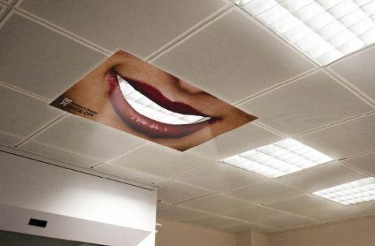 이제석 광고디자이너의 참신한 광고를 좋아합니다. -치아미백제 광고