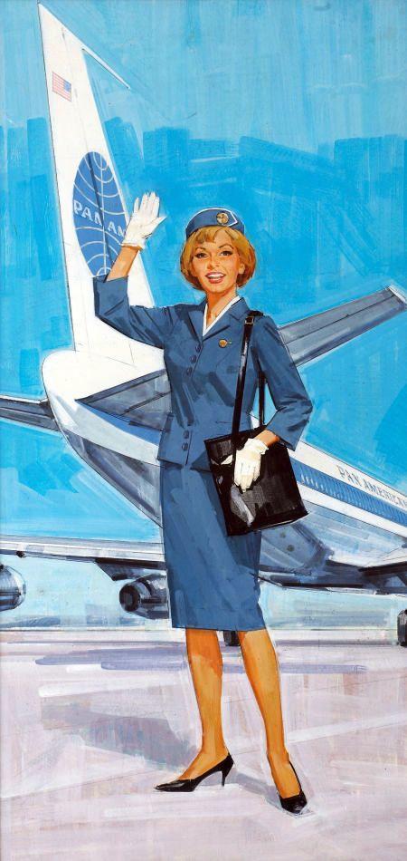 Картинки стюардесса и самолет для детей, дресс коде