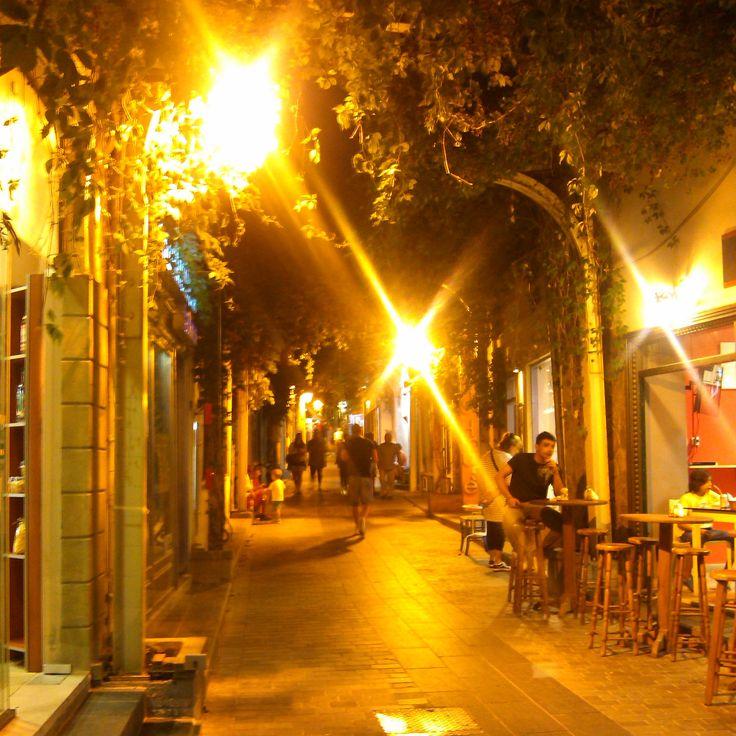 Myrina market by night LIMNOS GREECE photo by Electra Koutouki 2014