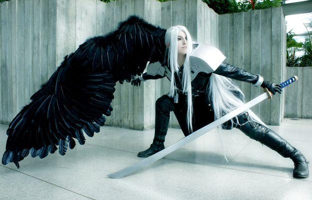 ... Cosplay Sephiroth Cloud - final fantasy vii (kingdom hearts) cosplay