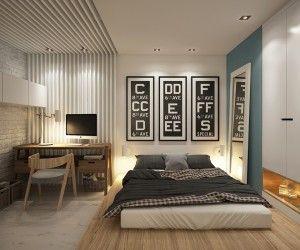Best Big Bed Small Apt Images On Pinterest Studio Apt
