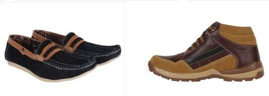 Mens footwear list contains running shoes, casual footwear, sandals and boots. All of these can be worn on a number of occasions. These footwear offers a number of benefits and that is why you can find a countless variety of mens footwear online shopping in India.