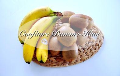 Confiture banane kiwi