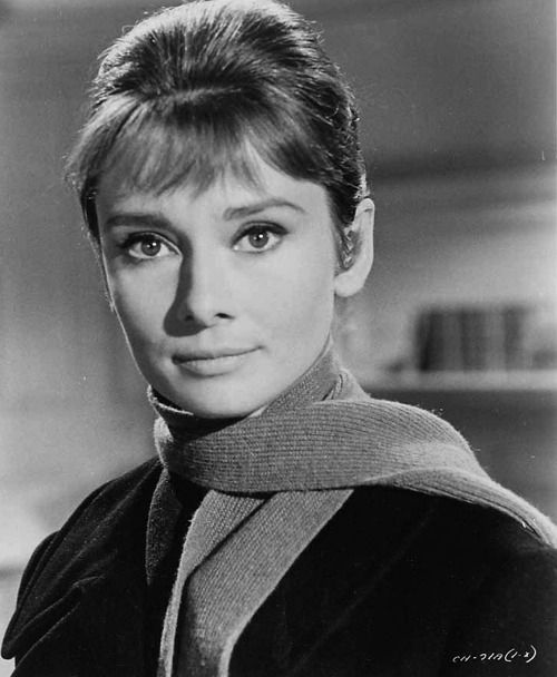 Audrey in a promotional photograph for 'The Children's Hour' (1961).