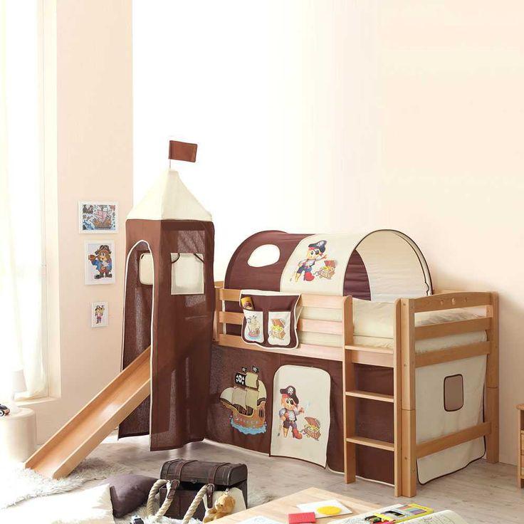 Die besten 25+ Kinderbett mit rutsche Ideen auf Pinterest ... | {Kinderhochbett mit rutsche 70}