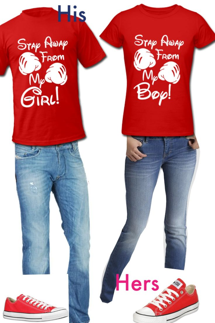 Mickey And Minnie Couples Shirts Cute twinning combo fo...