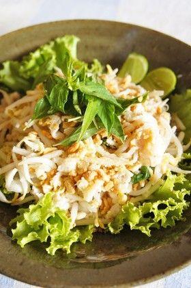 魚のライムマリネサラダ@カンボジア