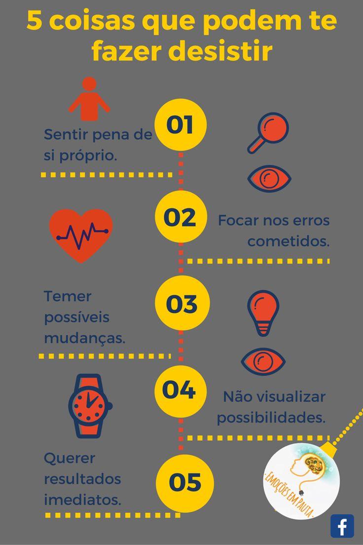 #infográfico #objetivo #metas #desistir #psicologia #psicologiaorganizacional