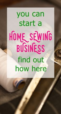 work from home moms | business ideas for moms | home sewing business | sewing fo…