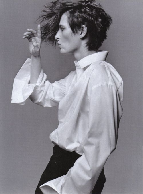Tilda Swinton- somedays I wish I could pull off this hair.