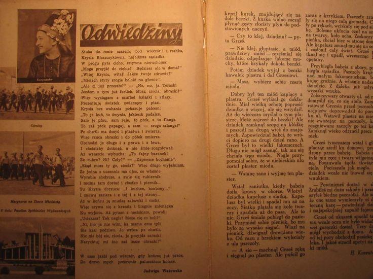 PRZYJACIEL  1948 NR 34 (Książki i Komiksy Komiksy Polskie Dla dzieci)