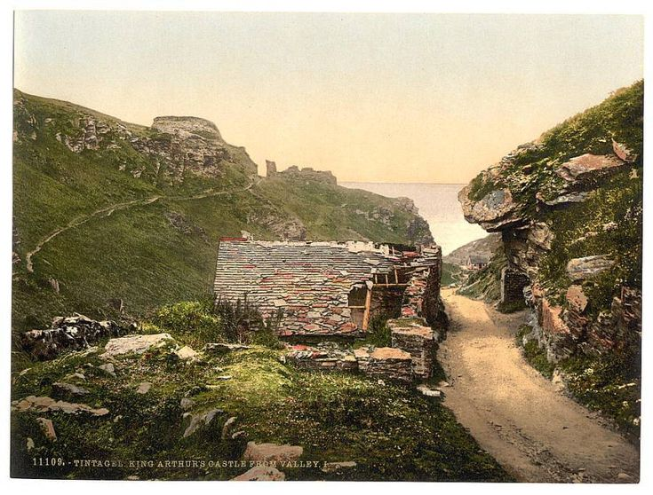 Англия, Корнуолл: Порт Айзек (Port Isaac), Боскасл (Boscastle), Замок Тинтагель (Tintagel Castle) - путешествия и прочее