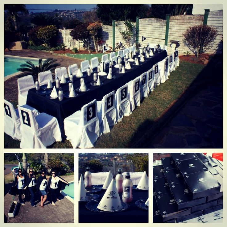 Sharks Rugby Themed Kids Party