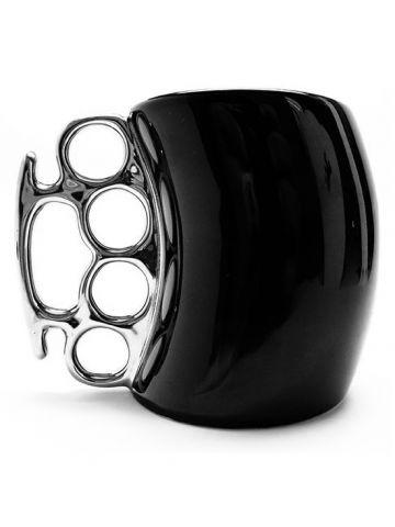 """""""Fisticup"""" Coffee Mug by Inked (Black) #InkedShop #mug #novelty"""