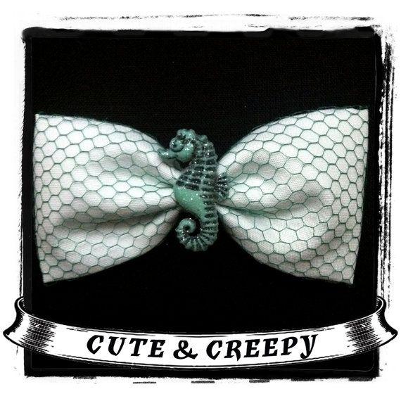 Under The Sea Hair Clip by cuteandcreepyinc on Etsy, $4.75