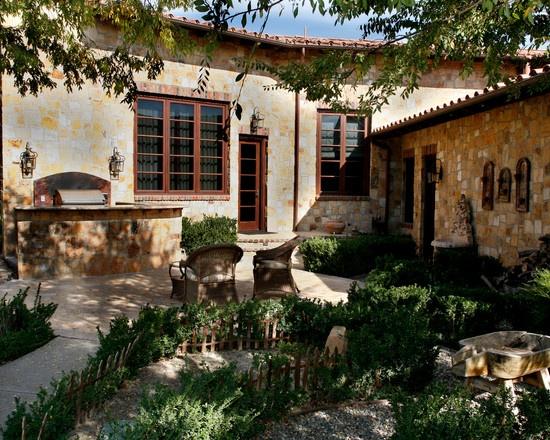 Mediterranean Exterior Spanish Patio
