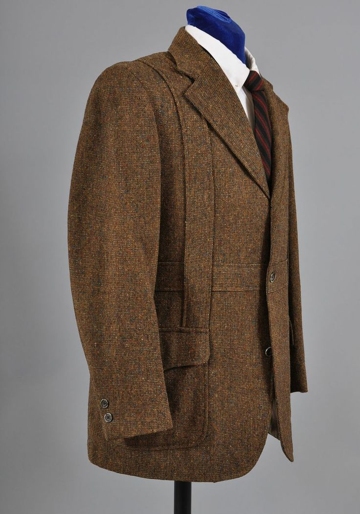 Men&39s Vintage Tweed Norfolk Suit / Jacket *Country Britches