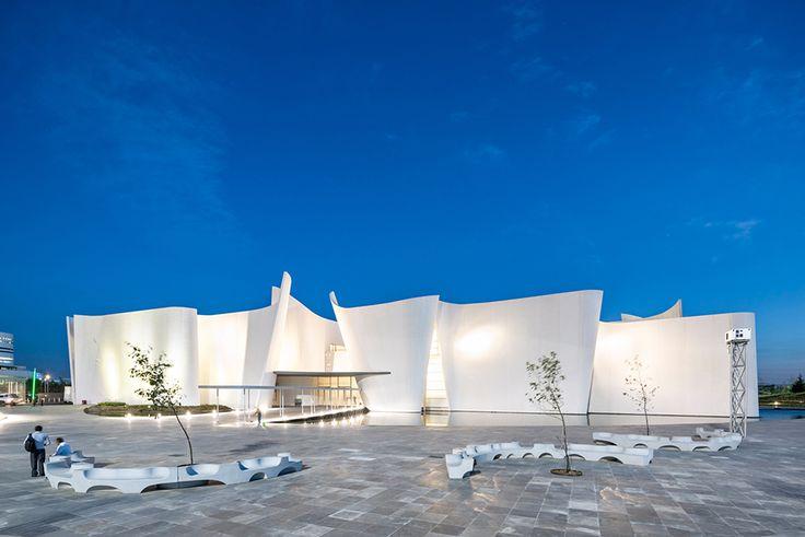 toyo ito museo internacional del barroco baroque art museum puebla mexico designboom