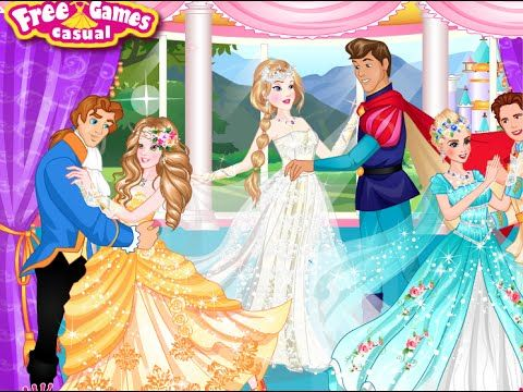 Popular Disney Princess Wedding Dance Disney Princesses Dress up Games