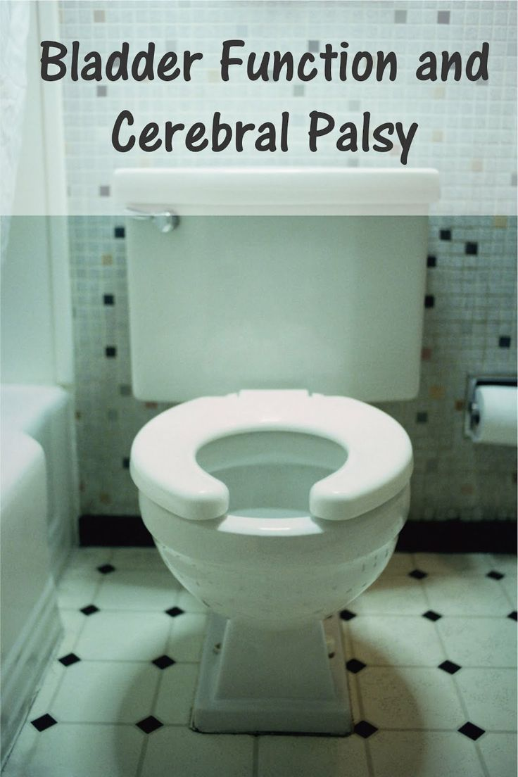Bladder Function and Cerebral Palsy  -  Pinned by @PediaStaff – Please Visit http://ht.ly/63sNt for all our pediatric therapy pins