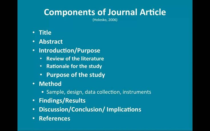 why critique a research paper