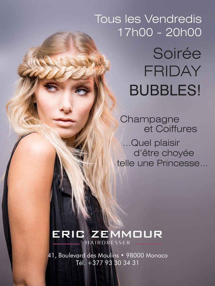 Friday Bubbles #ericzemmour #ericzemmourmonacoII #monaco #best #crew #lorealpro #iamlorealpro #hair #hairstylist #hairdresser #haircut #haircolor #hairstyle #style #fashion #glamour #mode #friday #fridaybubbles #champagne