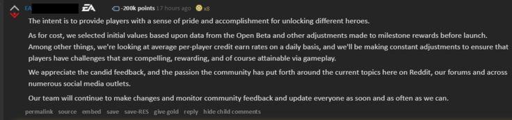 EA just hit -200k karma we did it Reddit! http://ift.tt/2zx9Pzr Check out Mystikz Gaming http://ift.tt/2tVNFmJ