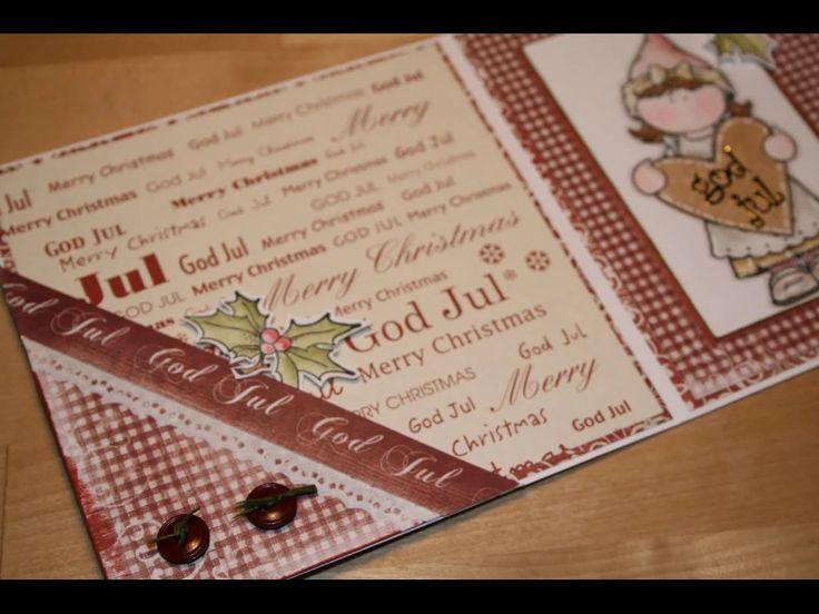 Christmas card / Hängler och Stängler