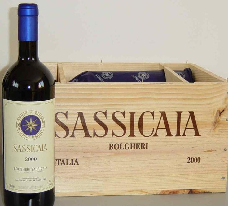 Vino Sassicaia - tinto / Italy