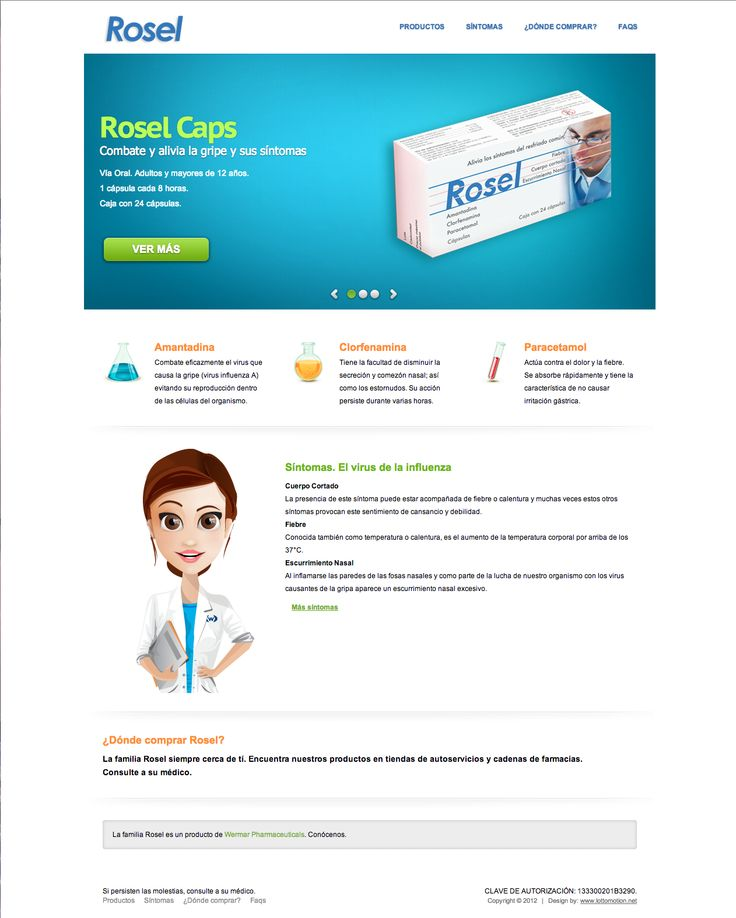 Web design. Digital communication. Rosel. http://www.rosel.com.mx