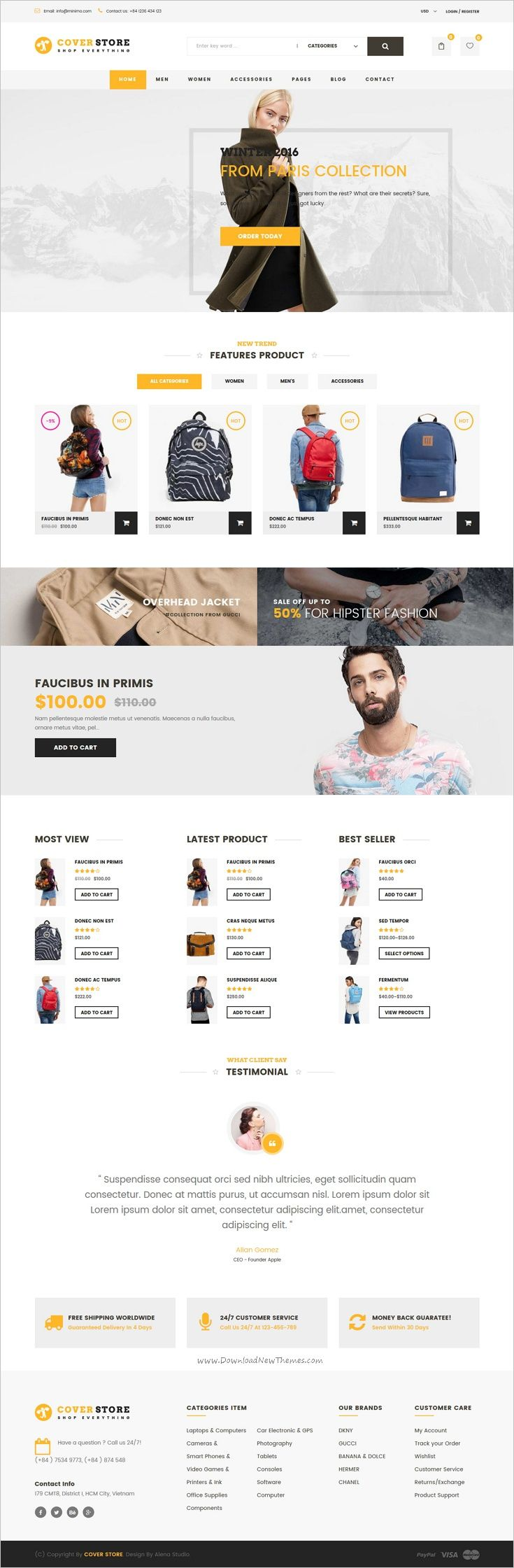 Cover shop is a wonderful responsive #WooCommerce #WordPress theme for awesome #eCommerce websites with 5+ unique homepage layouts download now➩ https://themeforest.net/item/cover-shop-woocommerce-wordpress-theme/18379911?ref=Datasata