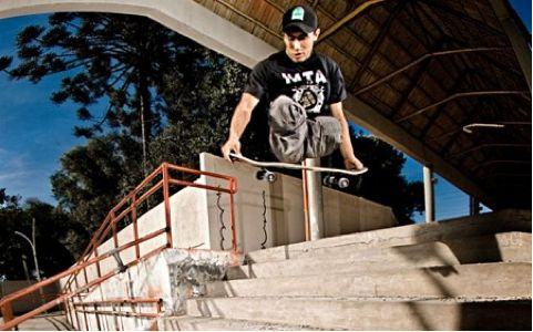 Italo Romano - the skater without legs showing he can still shred. Inspiring!