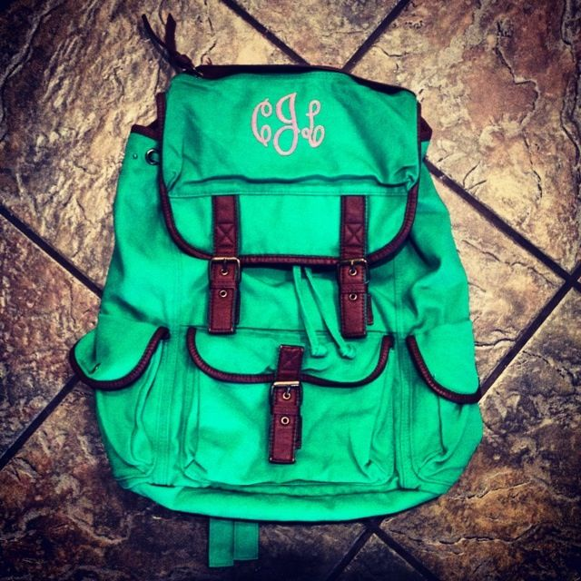 25  Best Ideas about Monogram Backpack on Pinterest | Monogram ...