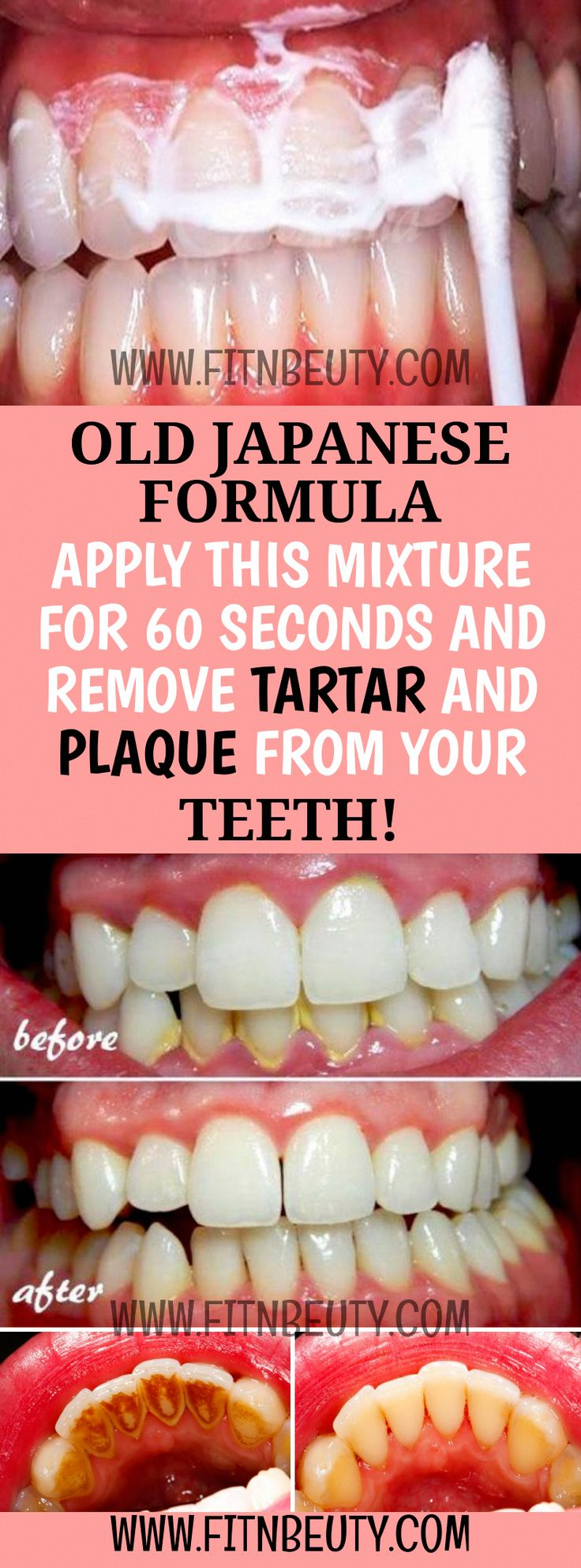 Old japanese formula apply this mixture for 60 seconds and