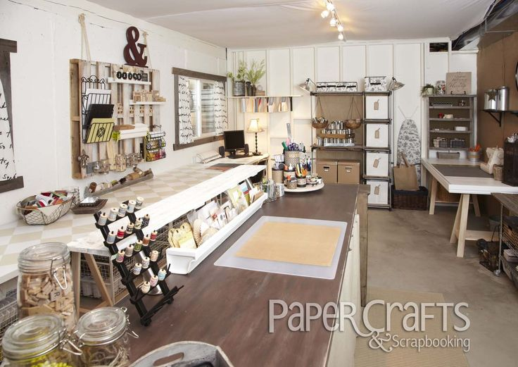 Jennifer Schaerer's craft room from Creative Spaces, Vol. 2: organization, craft space