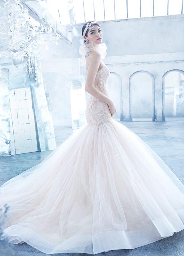 104 best Bridal Gowns | Lazaro images on Pinterest ...