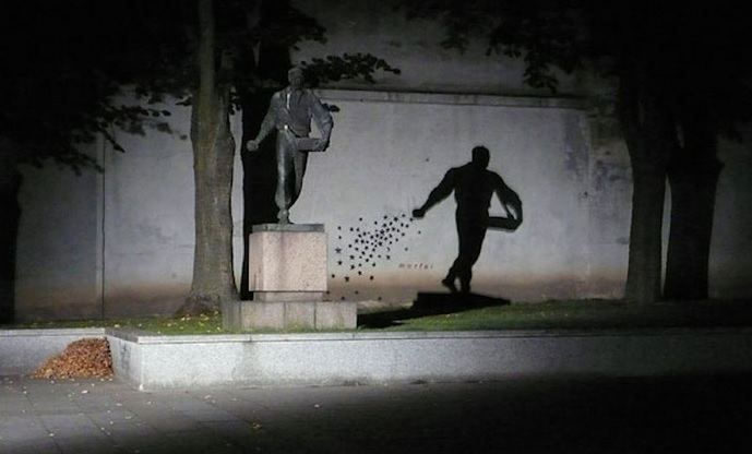 Night. The 12 Most Awesome Shadow Illusions Ever Captured – BoredBug