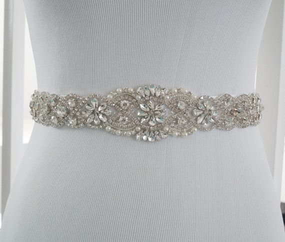 Bridal Sash Belt Bridal Belt Sash Belt Wedding by WestaireBridal