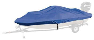 Bass Pro Shops Select Fit Hurricane Boat Covers for Conventional Bass Boats with Outboard - Blue - 82''