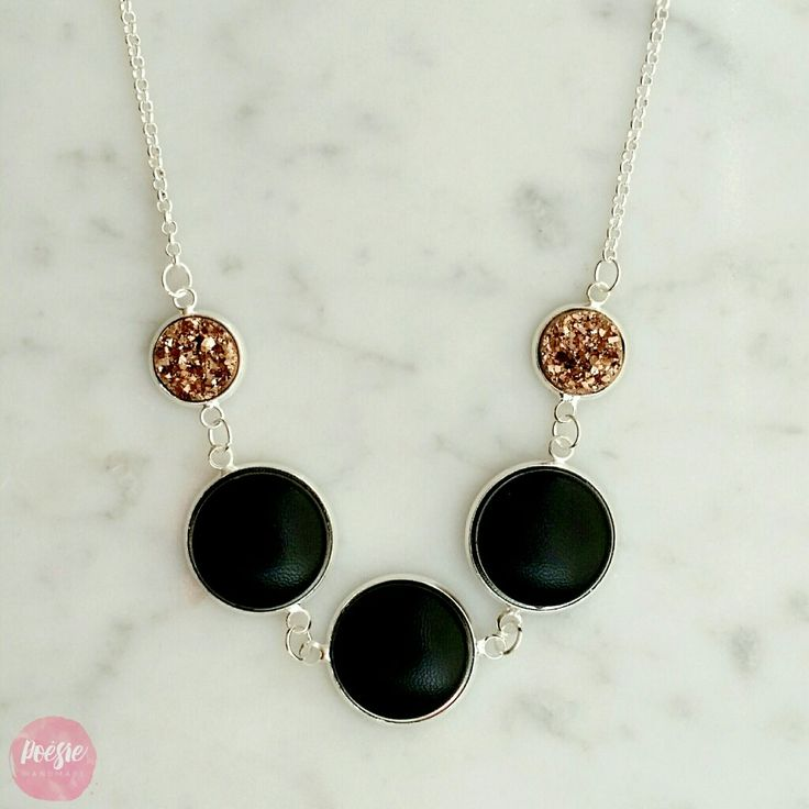 NEW Cinq Necklace • Available from www.poesiehandmade.com