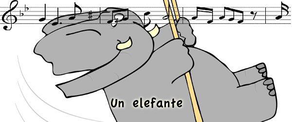 Canción un elefante