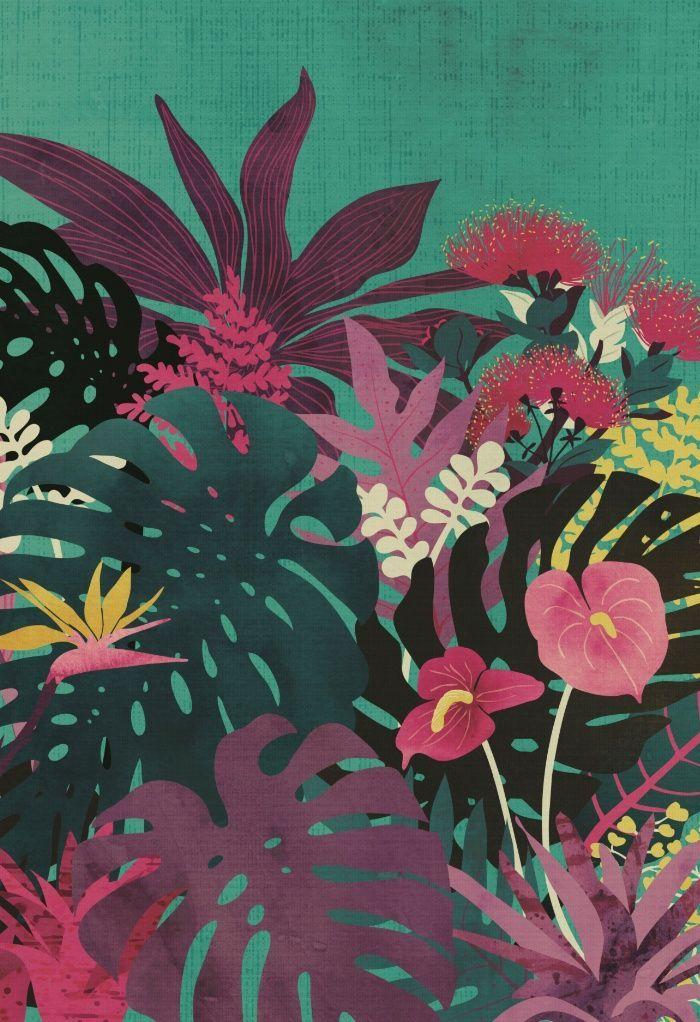 Tropical Tendencies Art Print
