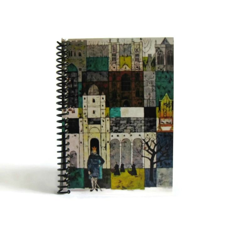 Westminster Abbey Spiral Bound Travel Pocket Diary Journal