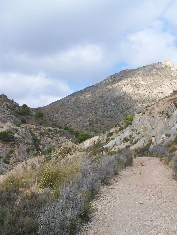 Mountains of Crevillente
