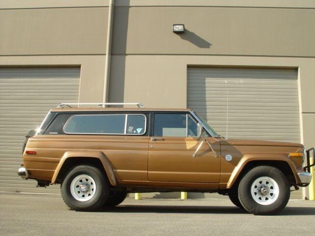 1980 Jeep Cherokee, rare original color $1251