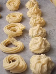 Нежное песочное печенье ставим печенье на 1 час в холодильник