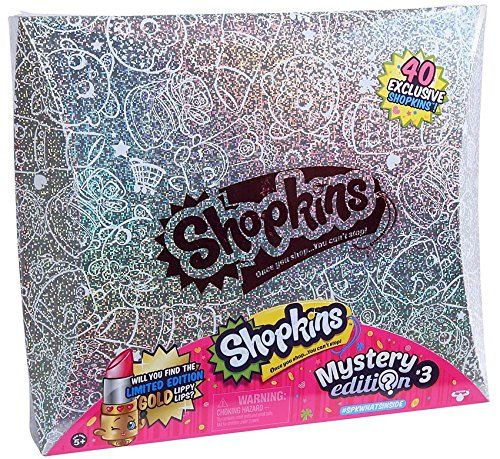 Shopkins Mystery Edition 3.0 Hologram Box Set 40 Exclusive Shopkins...
