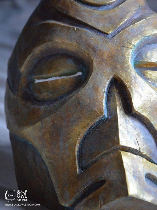 Krosis / Dragonpriest mask (The Elder Scrolls V: Skyrim) by Black Owl Studio…