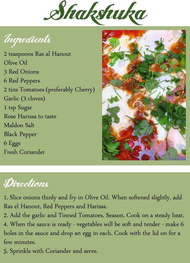 Jenni's Table: Shakshuka recipe